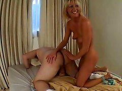Horny Ashley blows thick shaft