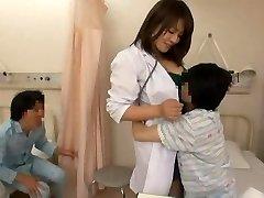 Nurse and naughty dudes