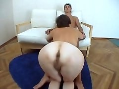 Giant ass Mature poking