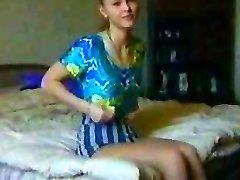 러시아 소녀 첫 번째 시간