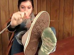 पसीने से तर मोजे, जूते - पैर