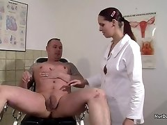 German Nurse want a Gravy Instance and get it with Fuck