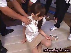 MiLF asiatique Rina Tomoa Obtient Pulvérisé part2