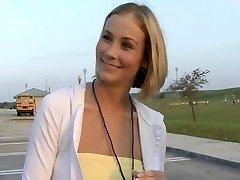 Cute Blondie Soccer Mom