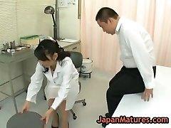Nurse natsumi kitahara gets her poon