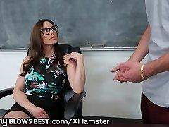 ergen HOROZ İstiyor MommyBlowsBest Öğretmen BİRE bir!