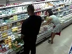 Grocery Shop Gangbang Orgy
