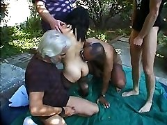 Bridget The Midget Gang-bang