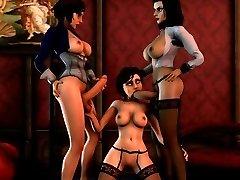 Bioshock 3D fucky-fucky compilation
