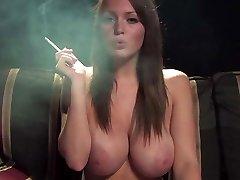 Greatest boobs ever smoking fetish