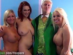 St. Patrick ' s pornstar orģija puse! Sēj.1