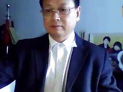 Ķīnas rafinēta tētis jerks pie