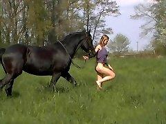 Katharina Rides Naked