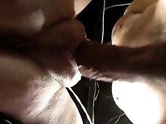 Splattering pussy with fat lips getting banged