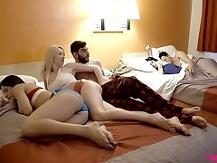 Seductive Gia Love and lecherous Abella Danger are boned by one wild guy