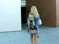 Blonde student fucked stiff
