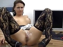 Sexy Babe Gets Ass Fucking And Cunt Covered In Jizz !