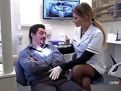 Jessie Volt naughty dentist gets fucked in anal