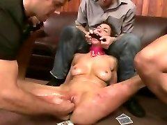 Brutal BDSM Dual Penetratopn Gangbang