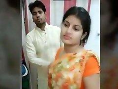 Desi sexy friend plumper wife fucking