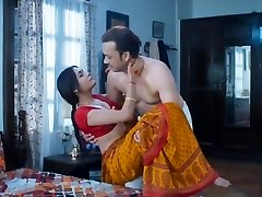 Wife homemade bang-out very hot red saree full romance fuck mastram web series