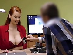 loan4k. etkileyici formları olan kızıl saçlı kadın ihtiyacı var