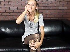 blonde aime perdre le contrôle