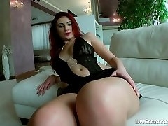 LiveGonzo Jenifer Stone Amateur Euro Ginger-haired