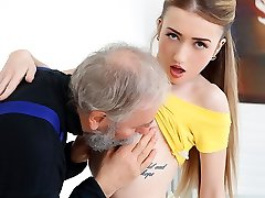 Empera in Old Man Drills A Fresh Babe - Senior-n-Young
