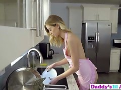 Seductive Haley Reed Tries Anal Sex With Step-father In Kitchen!