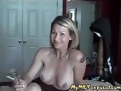 My Cougar Exposed Pierced and tattooed couple homemade sex
