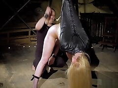 NEW Extreme lovemaking and painful BDSM for Candee Licious