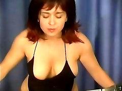 she drinks cum