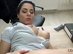 Gigantic brested Czech chick gets her anus fucked for money