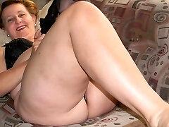 할머니가 다리 섹시(2)