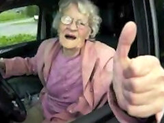 Drivers seat perverse olde Horny Grannies by satyriasiss
