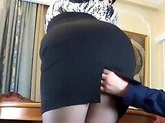 Russian assistant fucks her boss