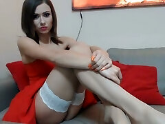 Fantastic bitch with Polish presents in front of the cameras