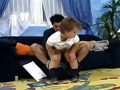 German midget gets boned