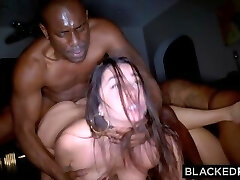 BLACKEDRAW Two Party Girls Cheat With BBCs After The Pub