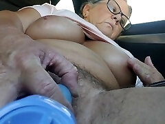 Quickie n the truck goin to work