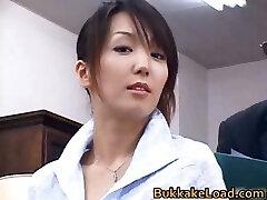 Sexy réel asiatique Shiho se foutre part3