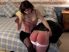 Panty pervert acquires smacked for going thru her pants