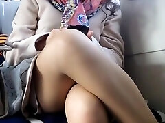 Upskirt on teach hidden cam voyeur 5