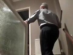 Julie fucks elderly man