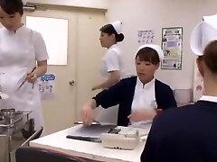 Horny Japanese whore Aya Sakuraba, Yuri Aine, Yu Kawakami in Naughty Handjobs JAV clip