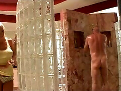 Young blonde nailed by senior step-dad