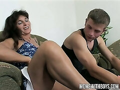 Mama Rewards Two Folks Hard Work With Hot DP Anal Act