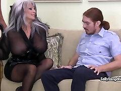 SallyDangeloXXX - Torrid Wife Lll  Mp4 Hd