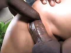 Ally Style Anal And Double Penetration With Dark-hued Dick